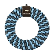 Tall Tails Blue Braided Ring Dog Toy, 6