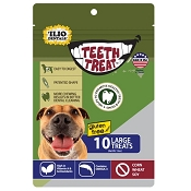 Teeth Treat USA Dental Chews for Dogs, Large, 12-oz Bag