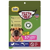 Teeth Treat USA Dental Chews for Dogs, X-Small, 12-oz Bag