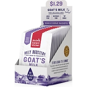 The Honest Kitchen Daily Boosters Instant Goat's Milk with Probiotics for Dogs & Cats, Pack of 12