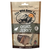 The Wild Bone Co. Quail Jerky for Dogs
