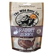The Wild Bone Co. Rabbit Jerky for Dogs
