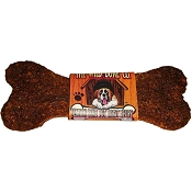 The Wild Bone Co. Venison Bone Pot Roast Dog Treats, 48-Count Case