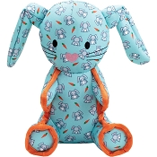 The Worthy Dog Bunny Dog Toy, Large