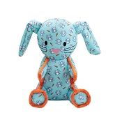 The Worthy Dog Bunny Dog Toy, Small