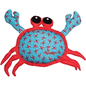The Worthy Dog Crab Dog Toy, Large