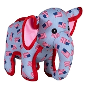 The Worthy Dog Elephant Dog Toy, Large