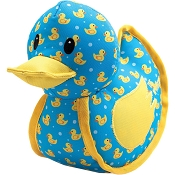 The Worthy Dog Rubber Duck Dog Toy, Large