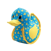 The Worthy Dog Rubber Duck Dog Toy, Small
