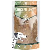 Tickled Pet Roasted Chicken Jerky USA Dog Treats, 8-oz Bag