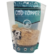 Tickled Pet Icelandic Cod Dog Food Topper, 6-oz Bag