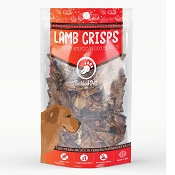 Tickled Pet Lamb Lung Crisps Premium Dog Treats, 16-oz Bag
