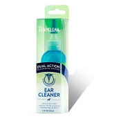 TropiClean Dual Action Ear Cleaner for Dogs & Cats, 4-oz Bottle