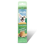 TropiClean Fresh Breath Peanut Butter Clean Teeth Oral Care Gel for Dogs, 2-oz