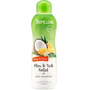 TropiClean Neem & Citrus Dog Shampoo, 20-oz bottle