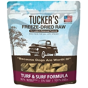 Tucker's Surf & Turf Freeze-Dried Dog Food, 14-oz Bag