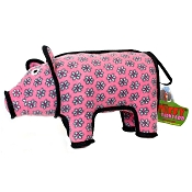 Tuffy Barnyard Series Polly Pig Dog Toy