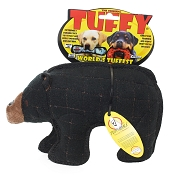 Tuffy Zoo Series Beaufort Bear Dog Toy