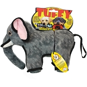 Tuffy Zoo Series Emery Elephant Dog Toy