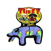 Tuffy Zoo Series Hilda Hippo Dog Toy