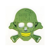 USA-K9 Skull Nylon Durable USA Dog Toy