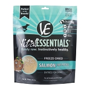 Vital Essentials Salmon Recipe Mini Patties Freeze Dried Dog Food, 14-oz bag