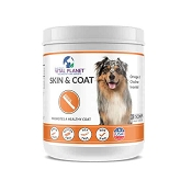 Vital Planet Skin & Coat Powder Supplement for Dogs