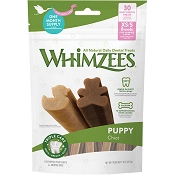 WHIMZEES Puppy Dental Dog Treats, XS/Small, 30 count