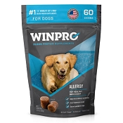 WINPRO Allergy Skin & Coat Blood Protein Dog Supplement, 60-Chews