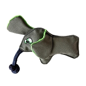 WO Wild Elephant Plush Dog Toy