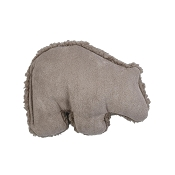 West Paw Big Sky Grizzly USA Plush Dog Toy, Small, Oatmeal