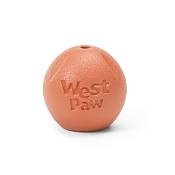 West Paw Echo Collection Rando Dog Toy, Small, Melon
