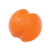 West Paw Jive Dog Toy, Tangerine, Small