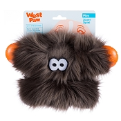West Paw Rowdies Fergus Dog Toy, Pewter Fur