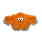 West Paw Rowdies Jefferson Dog Toy, Orange Fur