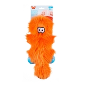 West Paw Rowdies Sanders Dog Toy, Orange