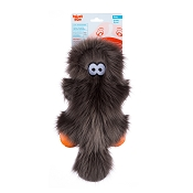 West Paw Rowdies Sanders Dog Toy, Pewter Fur