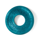 West Paw Zogoflex Air Dash Frisbee Dog Toy, Peacock Blue