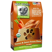 Wet Noses Carrot & Sweet Potato Recipe Organic Dog Treats, 14-oz Box