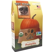 Wet Noses Pumpkin Recipe Organic Dog Treats, 14-oz Box