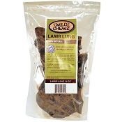 Wild Chewz USA Lamb Lung Dog Treats, 8-oz Bag