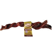 Wild Chewz USA Odor-Free Braided Bully Stick, 9 - 10
