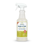 Wondercide Flea & Tick Spray Lemongrass Formula for Pets + Home, 16-oz Bottle