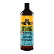 YAYA Organics Dog Whisperer Tick + Flea Dog Shampoo, 16-oz Bottle