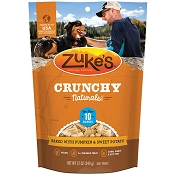 Zuke's Crunchy Naturals 10s Baked With Pumpkin & Sweet Potato Dog Treats, 12-oz bag