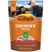 Zuke's Crunchy Naturals 5s Baked With Peanut Butter & Berries Dog Treats, 12-oz bag