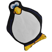 American Dog Arty Arctic Penguin Dog Toys Made in USA