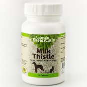 Animal Essentials Milk Thistle Dog & Cat Supplement, 30 Capsules
