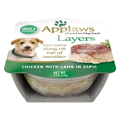 Applaws Chicken with Lamb in Aspic Moist Dog Food, Pack of 6