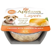Applaws Chicken with Pumpkin In Aspic Moist Dog Food, Pack of 6
